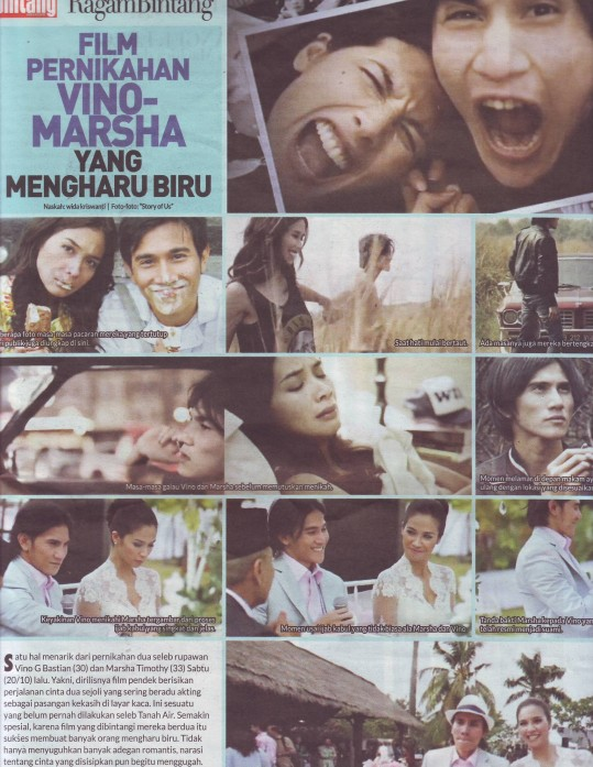 film pendek vino marsha story of us