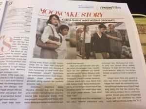 Mooncake Story dalam review Tabloid Bintang Indonesia
