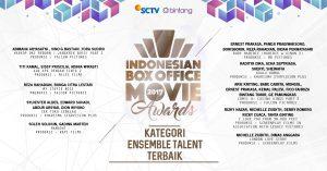 Nominasi IBOMA 2017 Kategori Ensemble Talent Terbaik.