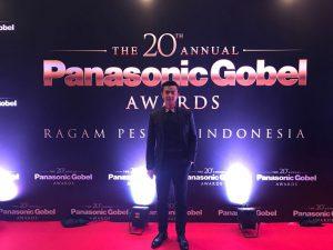 Dion Wiyoko Hadiri Panasonic Gobel 2017