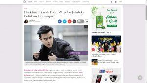 Dion Wiyoko Eksklusif Di Bintang.com
