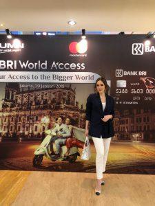 Cathy Sharon jadi salah satu host di acara BRI World Access