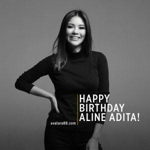 Aline Adita Berulang Tahun Hari ini (17/7)